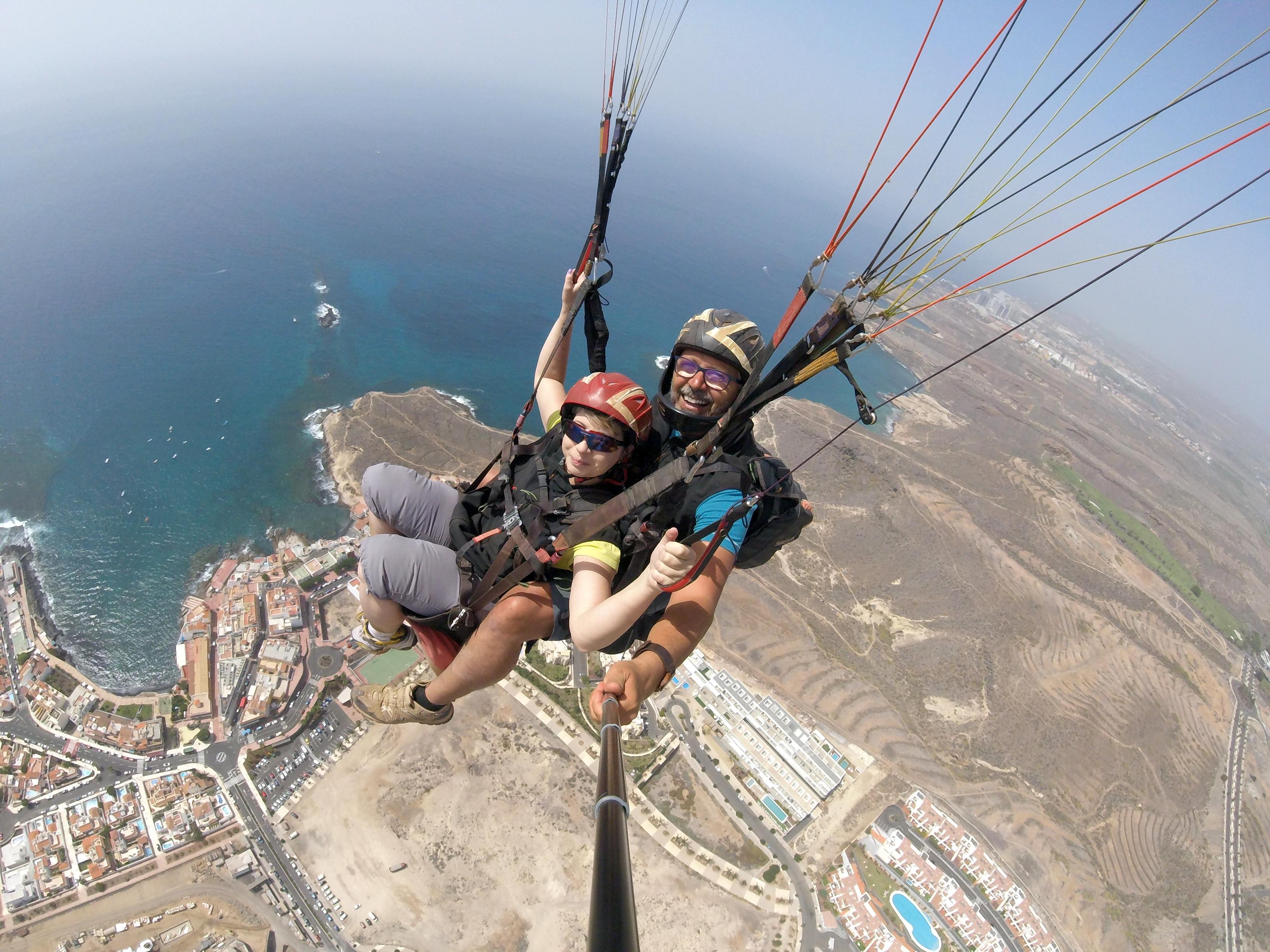 Tenerife paragliding 02