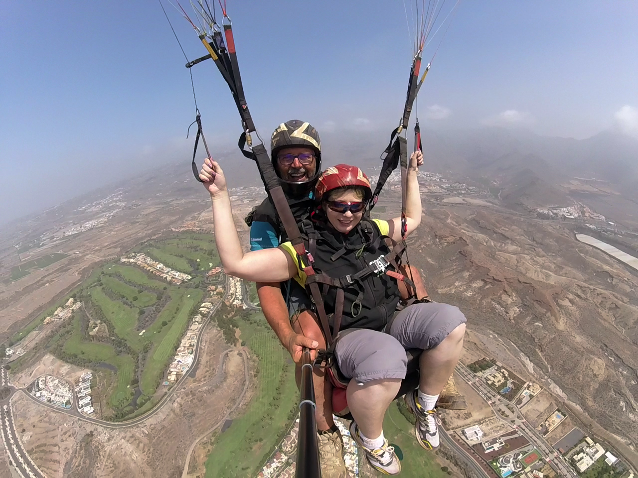 Tenerife paragliding 01